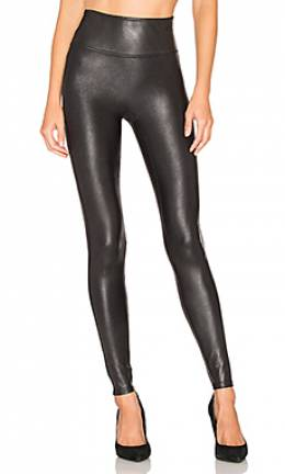 Леггинсы faux leather - Spanx 2437