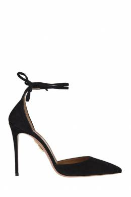 Замшевые туфли Heart Breaker Pump 105 Aquazzura 97547286
