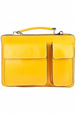 briefcase Emilio Masi 662004_YELLOW