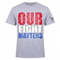 Футболка Tapout Our Fight Matters Men's T-Shirt Heather Tapout 57554