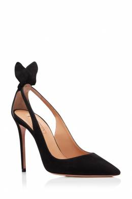 Черные туфли Deneuve Pump 105 Aquazzura 97592431