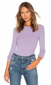 Топ fitted crew neck - Enza Costa SRS242