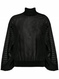 Givenchy - sheer roll-neck sweater 60J5Z0N9360666300000