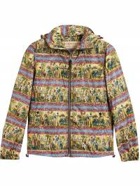 Burberry - Figurative Print Lightweight Technical Hooded Jacket 98639039690300000000