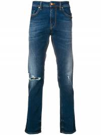 Diesel - distressed fitted jeans W9Q685ZB939363550000