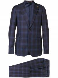 Paoloni - checked two piece suit 9A558989530939560630