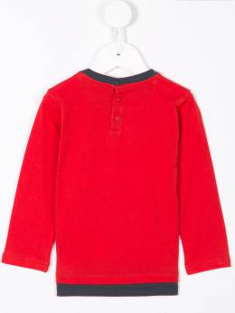 Emporio Armani Kids - rugby player long sleeve T-shirt T655J69Z939908390000