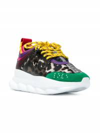 Versace - panelled sneakers 365GD9TVH93689563000