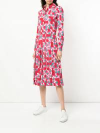 La Doublej - geometric print shirt dress 6605VIS6699309536500