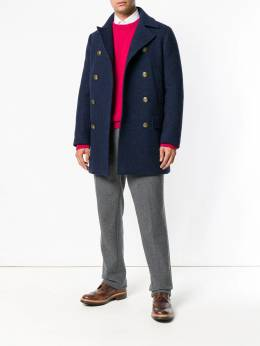Eleventy - double-breasted fitted coat CS6939CAS06695936538