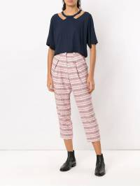 Olympiah - Camino cropped top 00993699036000000000