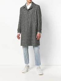 Low Brand - houndstooth patterned coat FW989935099306563000