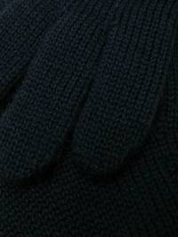 Catya Kids - knitted contrast trim gloves 55586889305533900000