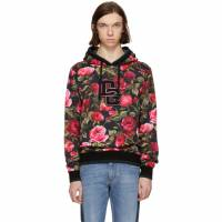 Dolce and Gabbana Pink Rose Hoodie