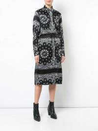 Amiri - bandana print shirt dress BDBAN905058960000000