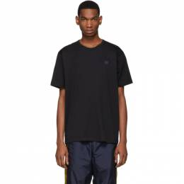 Acne Studios Black Nash Patch T-Shirt 25E173