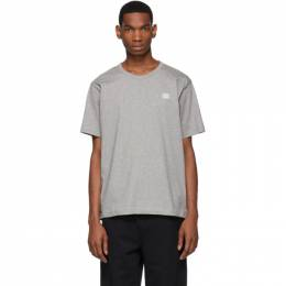Acne Studios Grey Nash Patch T-Shirt 25E173