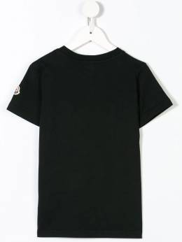 Moncler Kids - short sleeve logo T-shirt 96568369093639833000
