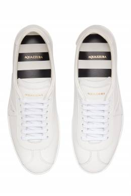 Белые кеды The a Sneaker Aquazzura 975110373