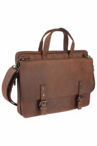 Briefcase WOODLAND LEATHER BR2001_TAN