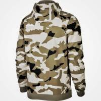 Толстовка Nike Sportswear Club Fleece Men's Full-Zip Camo Hoodie AQ0596-072