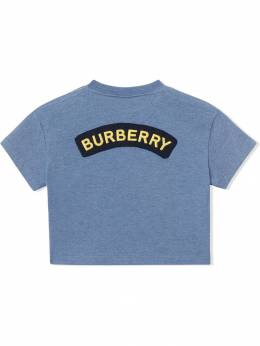 Burberry Kids - футболка с логотипом 65039358509300000000