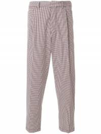 The Gigi - checked cropped trousers GAH66090358359000000