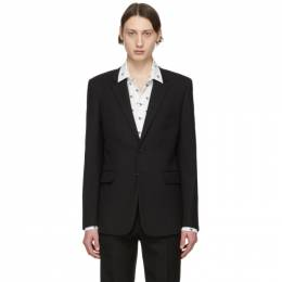 Saint Laurent	 Black Classic Blazer 505326Y404W