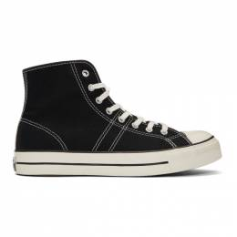 Converse Black Lucky Star High-Top Sneakers 201799M23602302GB