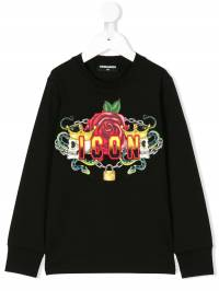 Dsquared2 Kids - Icon print sweatshirt 38SD66MQ936559030000