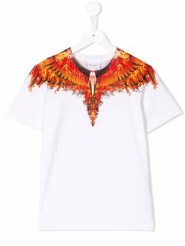 Marcelo Burlon County Of Milan Kids - Wings print T-shirt 66696B66693966863000