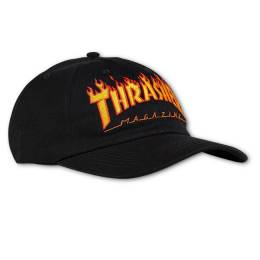 Кепка Flame Old Timer Hat Black Thrasher 010202037681