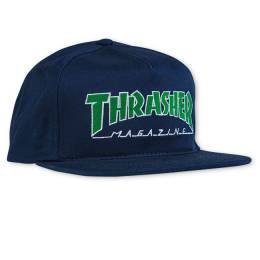 Кепка Outlined Snapback Navy Thrasher 010202035021
