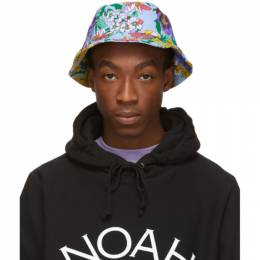 Noah NYC Multicolor Floral Rugby Bucket Hat Noah NYC 191876M14000101GB