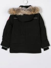 Canada Goose Kids - fur trimmed padded coat 3Y699303055900000000