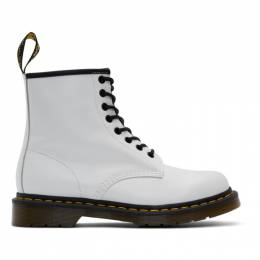 Dr. Martens White 1460 Boots 192399M25502703GB