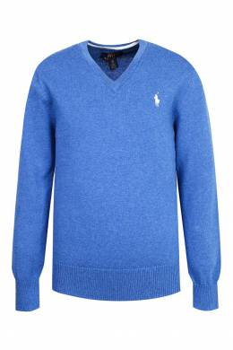 Синий пуловер Polo Ralph Lauren Kids 2669134111