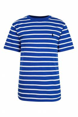 Футболка в полоску Polo Ralph Lauren Kids 2669134060