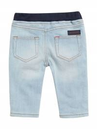 Burberry Kids - Relaxed Fit Pull-on Denim Jeans 86669096305900000000