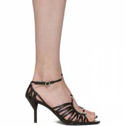 3.1 Phillip Lim Black Strappy Lily Sandals SHP9-T627NSF