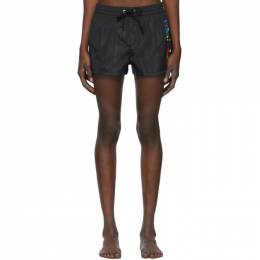Diesel Black Sandy Rainbow Swim Shorts SV9T 0DAWD