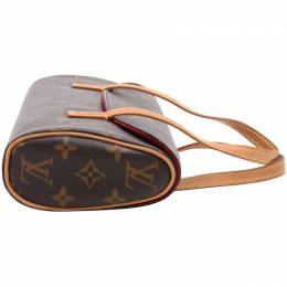 Louis Vuitton	 Monogram Canvas Sonatine Bag