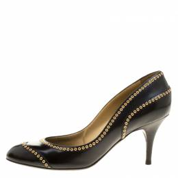 Sergio Rossi Black Leather Pumps Size 40 133184