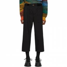 Sacai Black Oxford Pants 192445M19100302GB