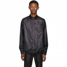 Sacai Black Nylon Shirt 192445M19200201GB