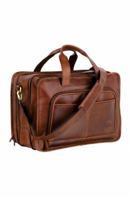 briefcase WOODLAND LEATHERS BR3103_TAN