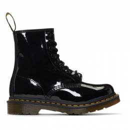 Dr. Martens Black Patent 1460 Boots 192399F11302202GB
