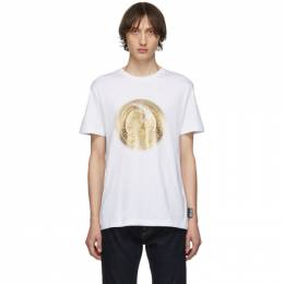 Versace Jeans Couture White Greek Figure T-Shirt 192202M21300203GB