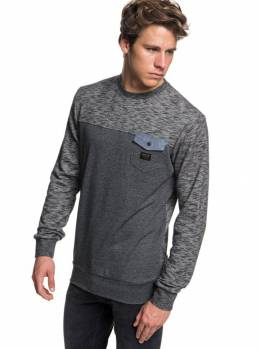 Джемпер QUIKSILVER Shdfleecetop1 M Dark Grey Heather 3613373820570
