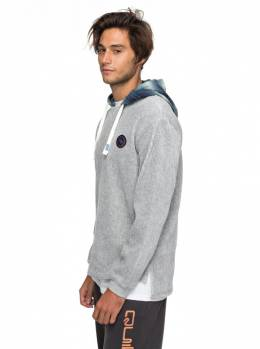 Джемпер мужской QUIKSILVER Diamondtail M Light Grey Heather 3613373377272